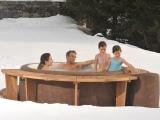 Галерия Softub - сняг