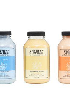 Кристали за ароматерапия Spazazz се отличават с уникална комбинация от растителни и минерални вещества, специално проектирани за вихрови вани.