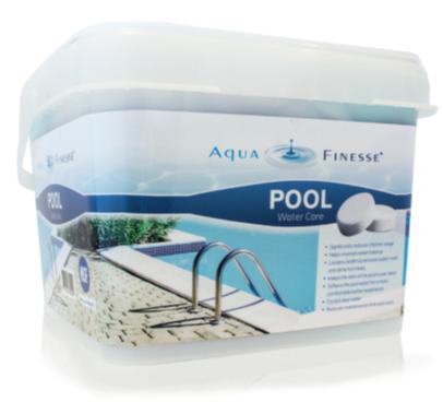 AquaFinesse таблетки за третиране на вода за басейни