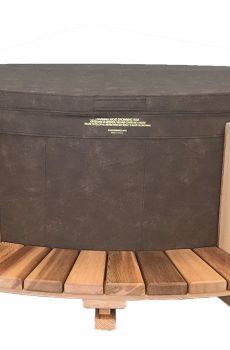 Мебел от кедрово дърво Cedar Stepper за горещи хидромасажни вани Softub